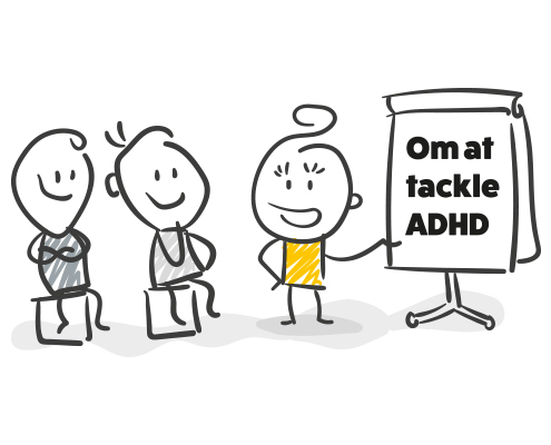 foredrag om at leve med adhd